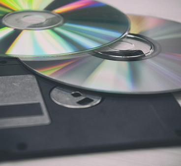 DVD, CD and Floppy