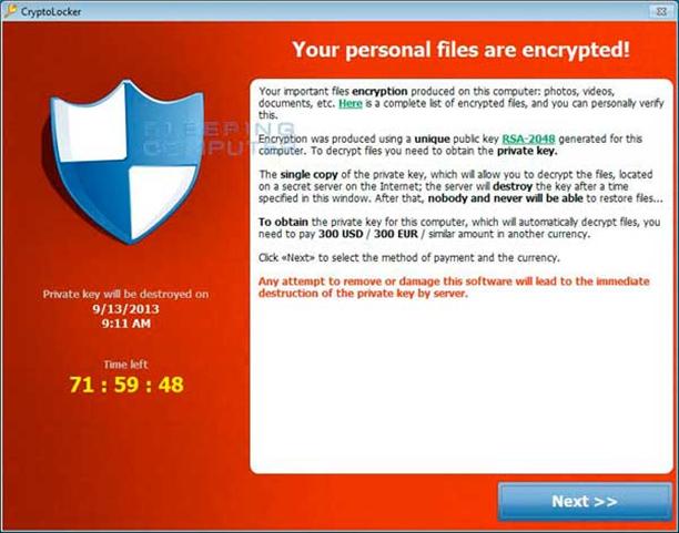 Cryptolocker-virus-poruka